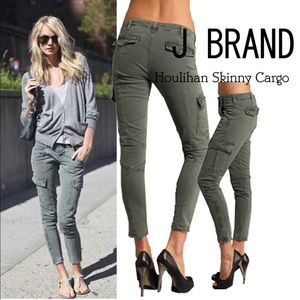 J Brand 💚utility pants  💚 Army green Sz 24